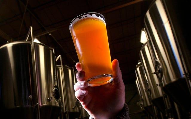 素晴らしいです、私たちのビールでさえマイクロプラスチックが入っています