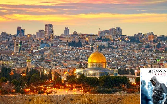 """Niewygodna prawda: wyeksponowanie Jerozolimy w """"Assassin's Credo"""" oznacza, że jest to niezaprzeczalnie miejsce święte również dla graczy"""