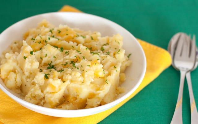 マッシュポテトはジャガイモよりも優れています