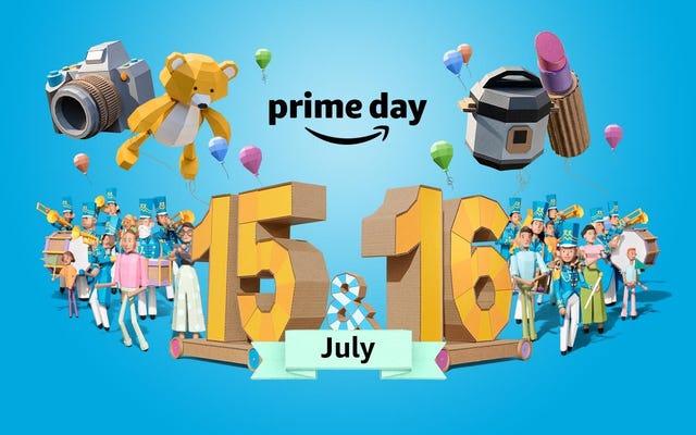 Vous pouvez commencer à acheter les offres Prime Day d'Amazon dès maintenant