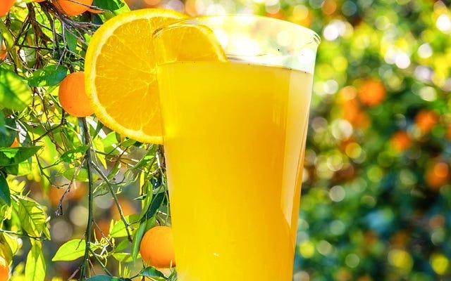 アーノルドパーマーを忘れてください—アールグレイオレンジエードが必要です