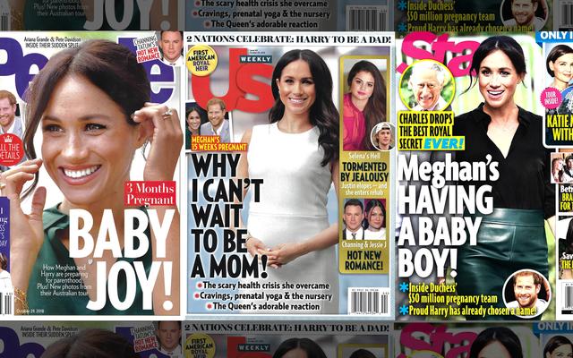 今週のタブロイド紙:彼女は妊娠中です!!!