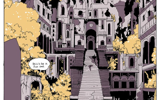 On A Sunbeamは、コミックなど、今年最高のラブストーリーの1つを提供します。