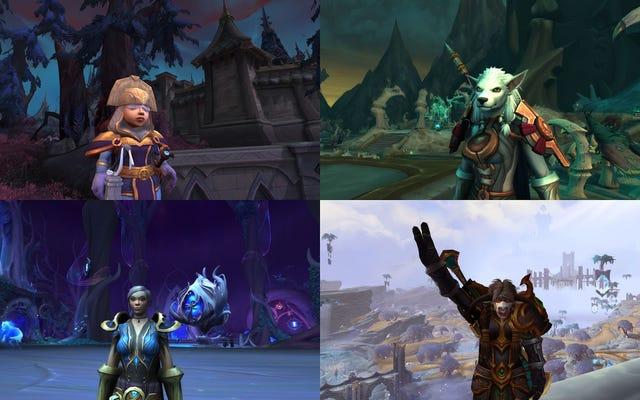 Estoy haciendo malabares con cuatro alternativas para obtener todo el botín en World of Warcraft: Shadowlands