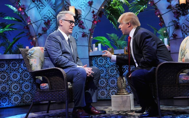 キース・オルバーマンは、痛々しいほど鈍感であることは白人の超大国であるため、トランプを「気まぐれな小さなクンタ・キンテ」と呼んでいます