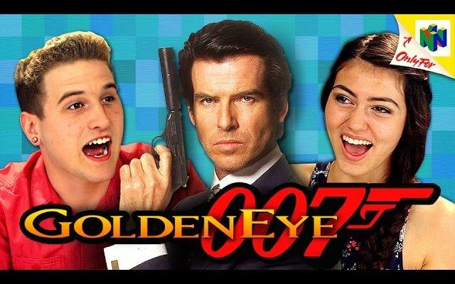 GoldenEye 007 Gençlere Bölünmüş Ekran Oyunlarının Sevinçlerini Öğrettiğini İzleyin