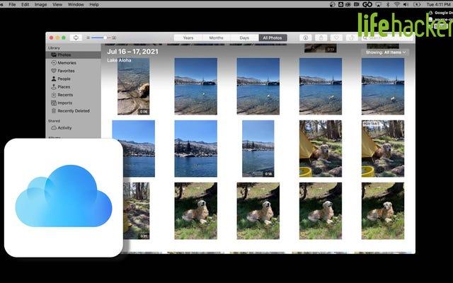 วิธีจัดระเบียบรูปภาพ iCloud ทั้งหมดของคุณ