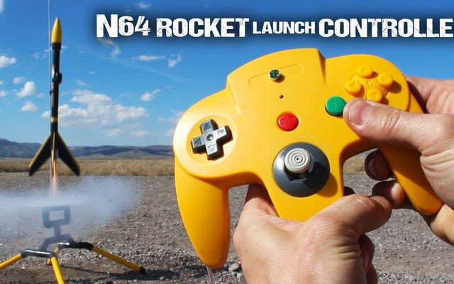 Eski Nintendo 64 Denetleyicisini Roket Fırlatma Uzaktan Kumandasına Dönüştürün
