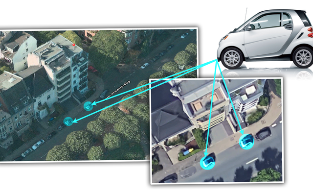 Propietario alemán compra dos autos inteligentes solo para evitar que la gente se estacione cerca de la entrada