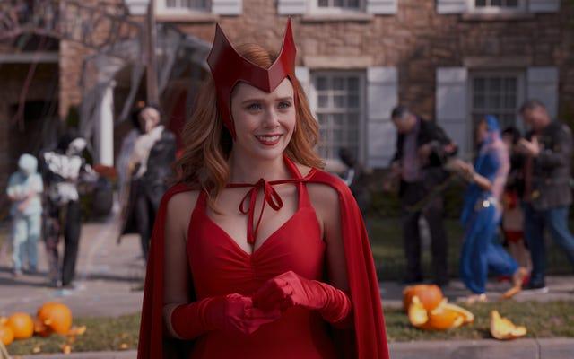 Cadılar Bayramı, tüyler ürpertici, tüyler ürpertici bir WandaVision'da erken gelir