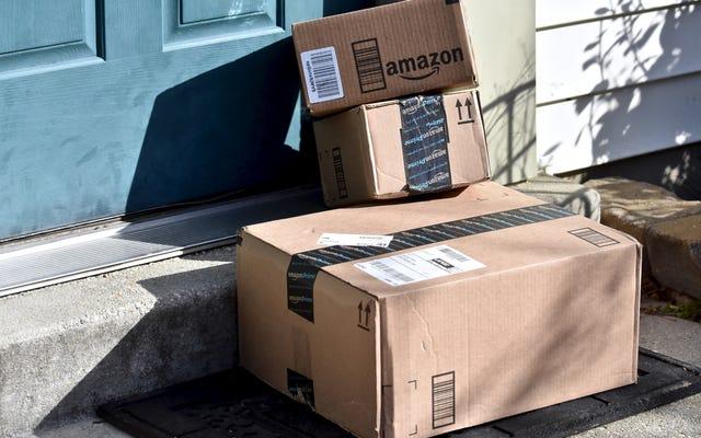 Amazonボックスを再利用およびリサイクルする方法