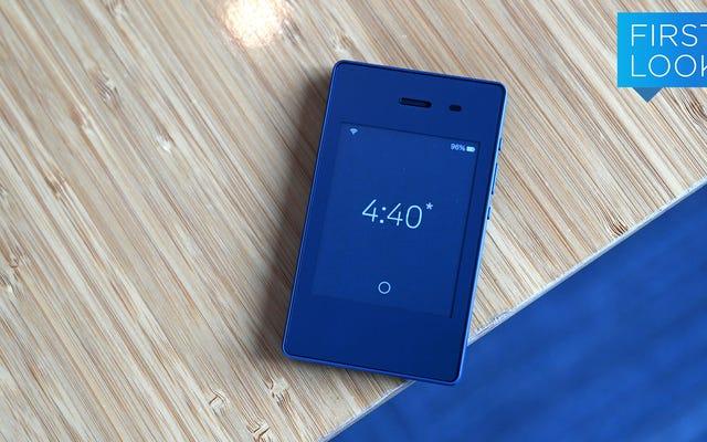 Light Phone2はインターネットからあなたを救いたいと思っています