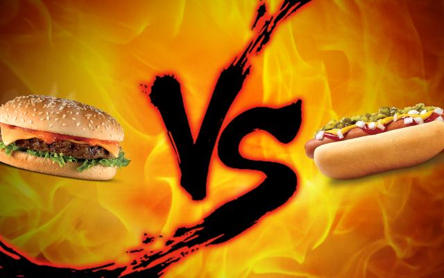 労働者の日の対決:ハンバーガー対ホットドッグ