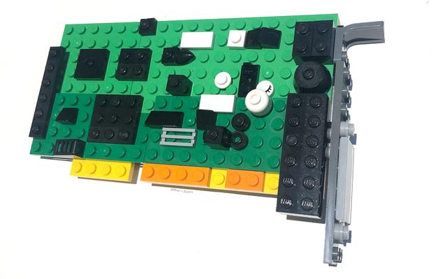 LEGO SoundBlasterのインストールはそれほど難しくありません