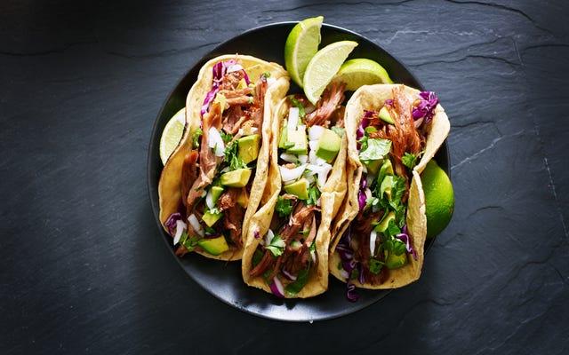 Qu'y a-t-il de plus d'un sandwich: un taco ou un hot-dog?