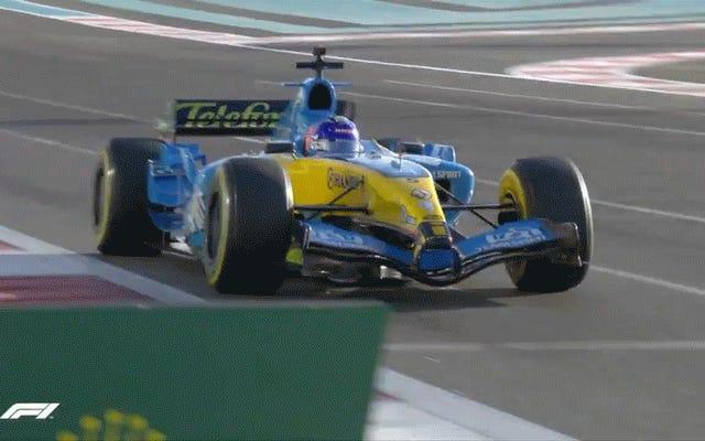 Cette voiture de F1 depuis 15 ans a toujours l'air si rapide