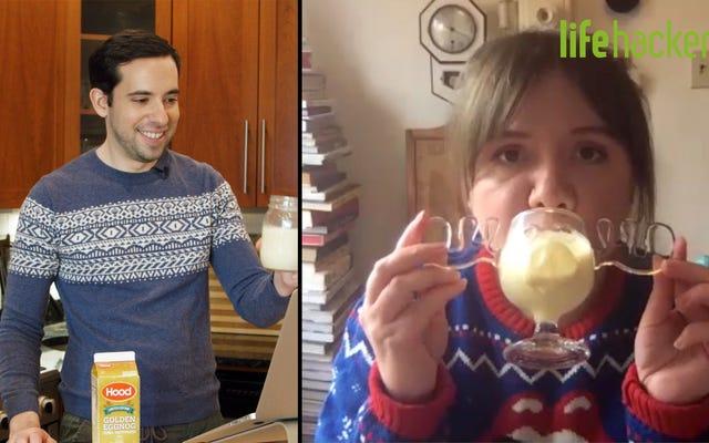 Eggnog Nasıl Daha İyi Yapılır