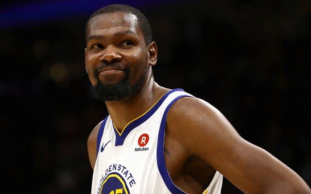 Kevin Durant a remporté la finale de la NBA ce soir