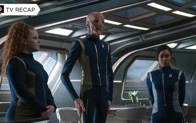 El descubrimiento acaba de convertir su final en un episodio bastante sólido de Star Trek