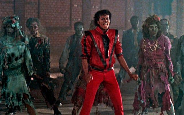 闇が陸を越えて落ちる、マイケルジャクソンのスリラー3DIMAXデビューが間近に迫っています