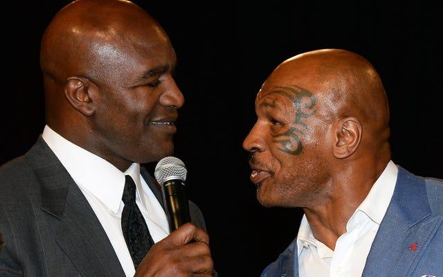 Lần thứ 3 là sự quyến rũ? Mike Tyson sẽ ném tay với Evander Holyfield lần cuối: 'Tôi rất muốn làm điều đó'
