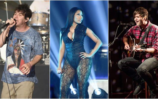 Nicki Minaj, Animal Collective และ Death Cab เป็นผู้นำสัปดาห์ที่วุ่นวายในการเปิดตัวใหม่