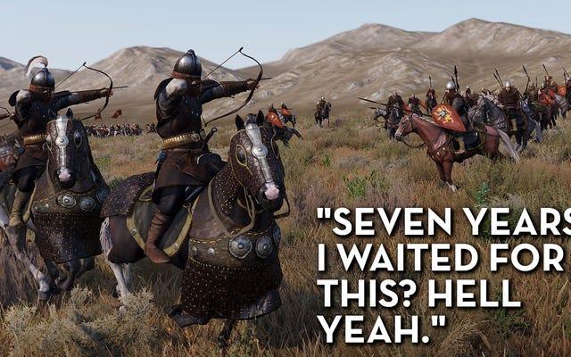 Mount & Blade II: Bannerlord, comme le disent les critiques de Steam