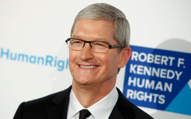 Tim Cook: Teknoloji İnsanları Bölüyor Ama Aynı Zamanda Apple'ın Vergilerini Şimdiden Kesebilir miyiz?
