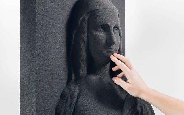 これらの3D印刷された写真は、視覚障害者がクラシックアートを体験するのに役立つ可能性があります