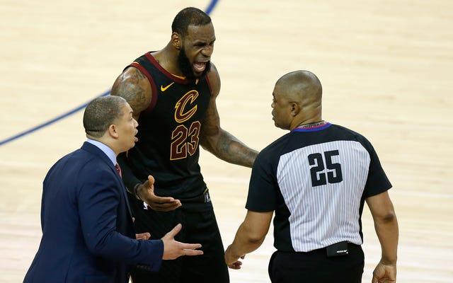 Rapport NBA L2M: Les arbitres ont fait un gros gâchis stupide de la fin du match 1