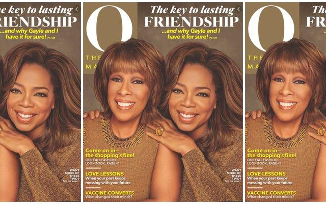 Get You a Gayle: pour la première fois dans l'histoire de O Magazine, Gayle rejoint Oprah sur la couverture