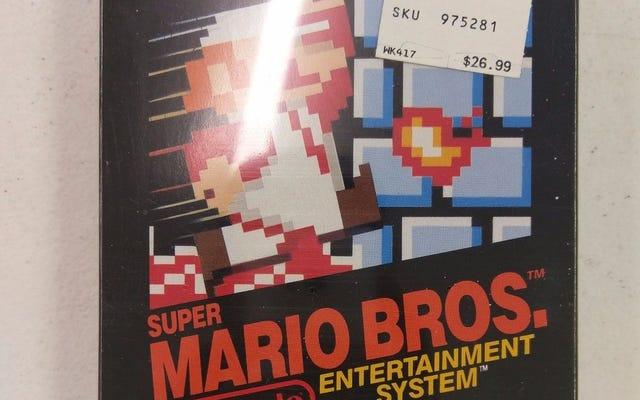Une copie scellée de Super Mario Bros. se vend 30000 $