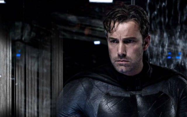 Rumor: Ben Affleck ha riscritto la sceneggiatura di BvS nel suo costume di Batman