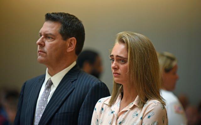 女性は、テキストメッセージを介して彼女のボーイフレンドに自殺を促した殺人罪で有罪となった