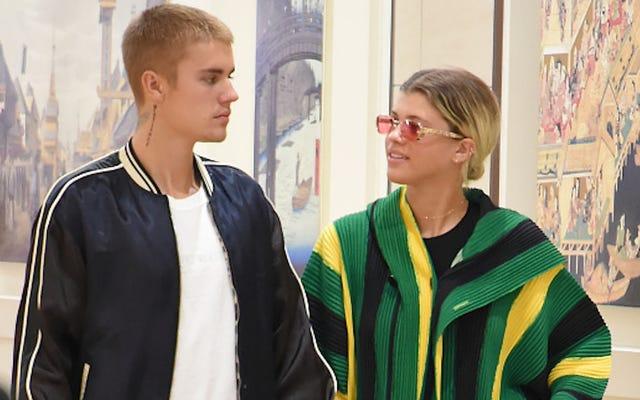 Justin Bieber y Sofia Richie rompieron, y está bien