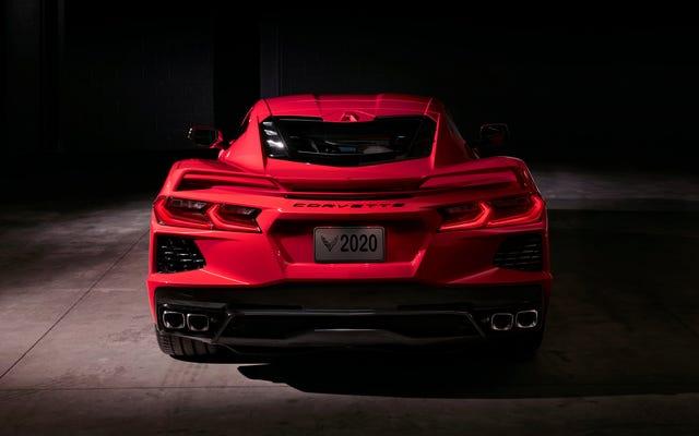 Vous pouvez personnaliser le NIV de votre Corvette C8 pour 5000 $
