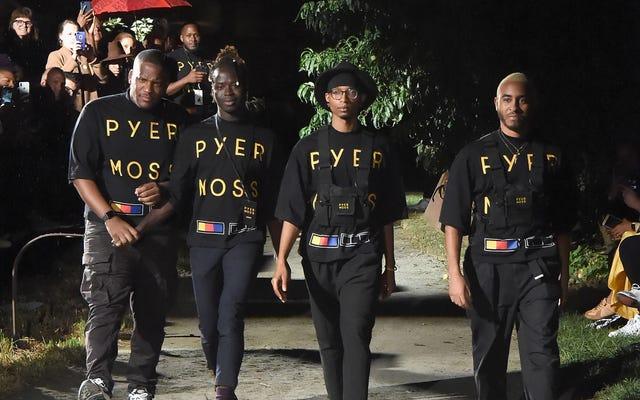 ファッションが私たちを第一に:Pyer Mossがニューヨークでポップアップを開催しています!