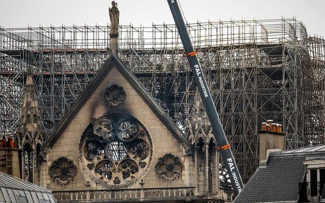 นักวิจัยติดตามสาเหตุของไฟไหม้ Notre Dame ไปยังระบบไฟฟ้าที่ล้าสมัยในศตวรรษที่ 12 ของมหาวิหาร