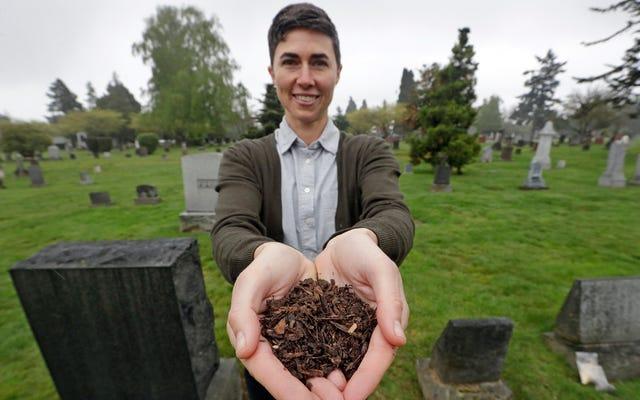 アメリカ初の堆肥化葬儀場がついにオープン