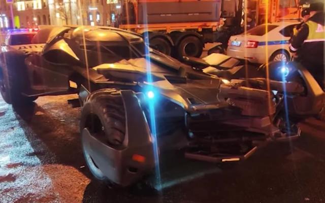 モスクワのバットマンは法を超えていない
