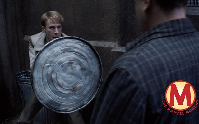 Avec une ligne dans Captain America: The First Avenger, Steve Rogers prouve pourquoi il est un héros