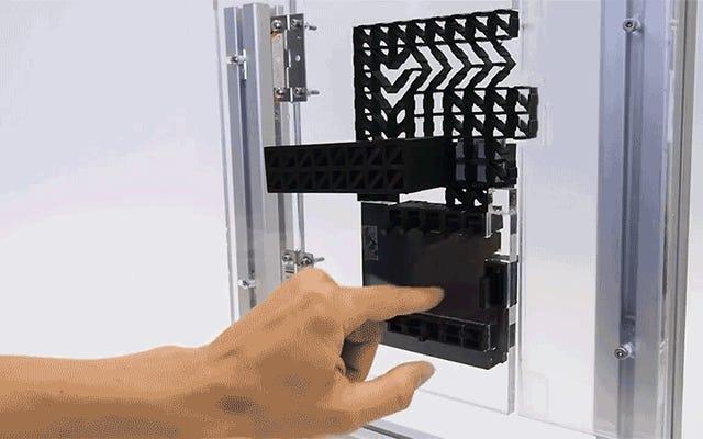 3Dプリントされ、PINで保護されたドアロックはあなたの家を保護しませんが、それは確かにクールに見えます