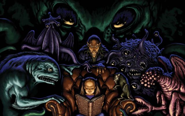 От Азатота до Занна: напугайте детей, чтобы они уснули, с помощью бесплатной книги Mythos ABC