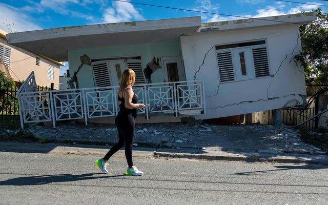プエルトリコは、壊滅的な地震活動の週の間に5.9マグニチュードショックに襲われました