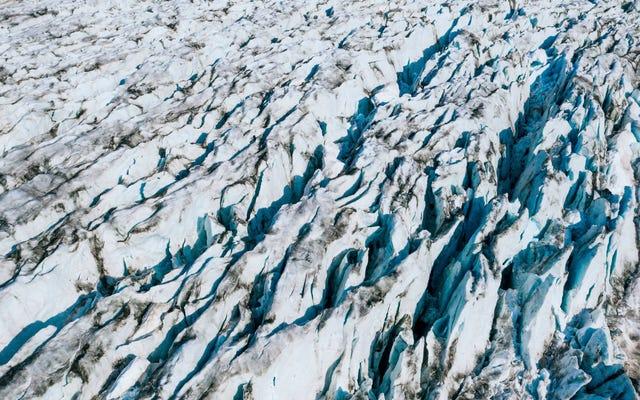 最終氷河期の間に、グリーンランドの不規則な気温が世界中で変化を引き起こしました