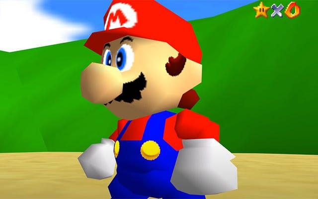 """Super Mario 64 ถูก """"พอร์ต"""" ลงพีซีแล้ว"""