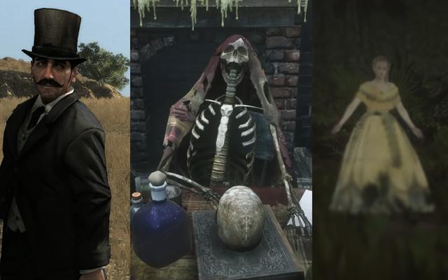 Игроки Red Dead Redemption 2 продолжают сталкиваться с паранормальными персонажами в игре