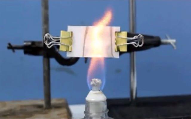 火災検知の壁紙は部屋全体をより良い煙探知器に変えます