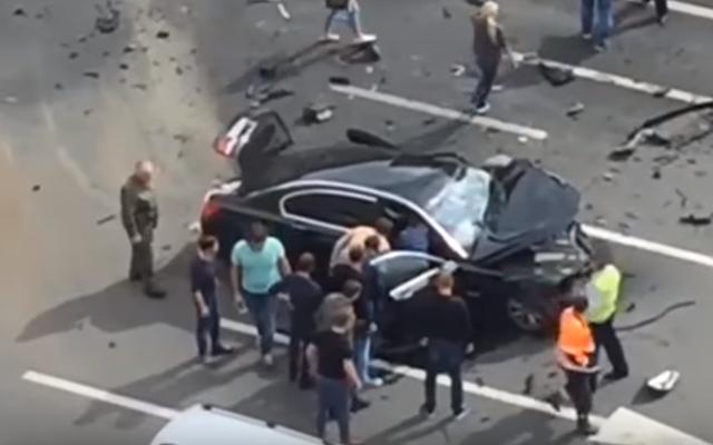 भयानक दुर्घटना में व्लादिमीर पुतिन के राष्ट्रपति के चालक की मौत