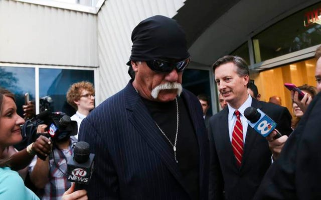 Không ai nói lớn hơn tinh ranh của Hulk Hogan